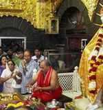 Kajol, Ajay visit Shirdi