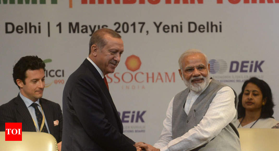 Erdogan Turkish President Erdogan Pitches For Free Trade Agreement