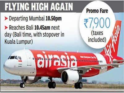 Mumbai Back On Air Asia Map With Flights To Bali Mumbai