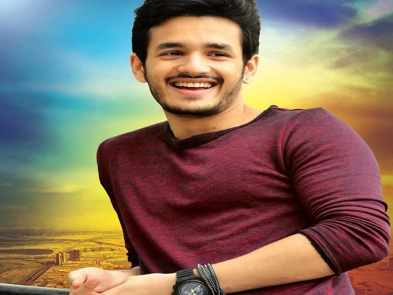 Akhil Akkineni shares a candid moment with Chiranjeev
