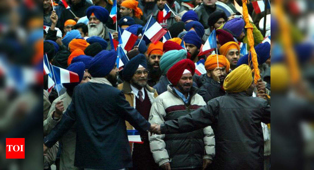 Sigh Of Relief For French Sikh After Emmanuel Macron Elected To Be The Next President Of France Times Of India