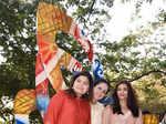 Poonam Mahajan with Aishwarya Rai Bachchan and Rouble Nagi