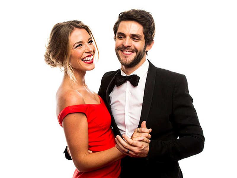 Thomas Rhett And His Wife Lauren Gregory Adopt Baby Girl English