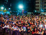 Crowd during Amway XS energy drink launch