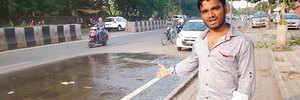 Overflowing drainage water irks Yerwada