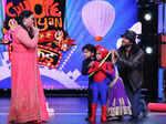 Chunkey Pandey and Bharti Singh