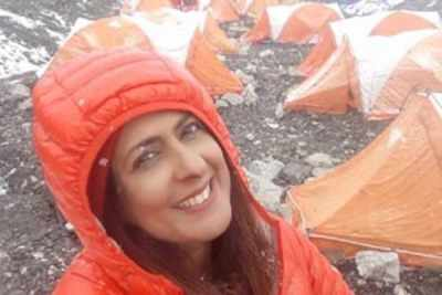 Former Miss India finalist evacuated from Mt Everest