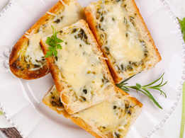 Baked Chili Cheese Toast
