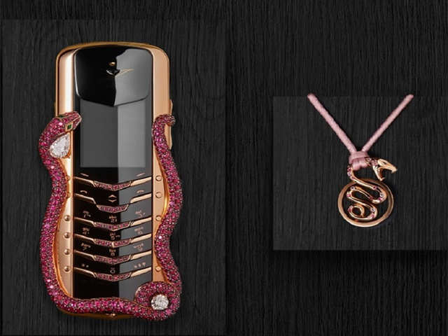 972b839cb World s most expensive feature phone Vertu Signature Cobra launched at Rs  2.3 crore