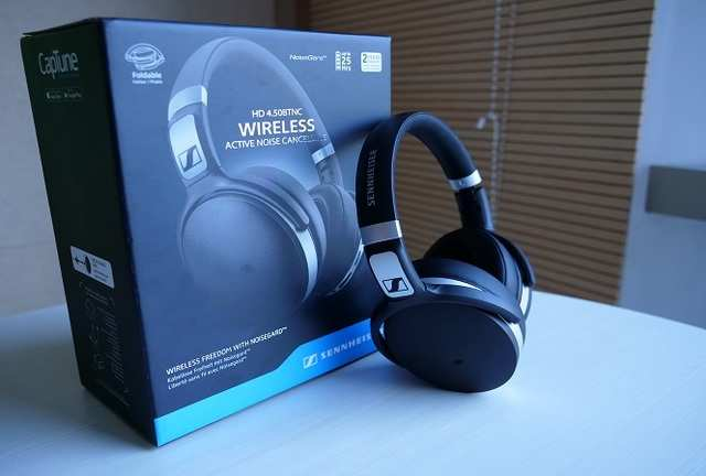 d85bb0a8e24 Sennheiser 4.50BTNC Wireless Active Noise-cancelling headphones review:  Good, but better options available