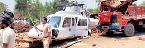 Latest helicopter saved CM and co