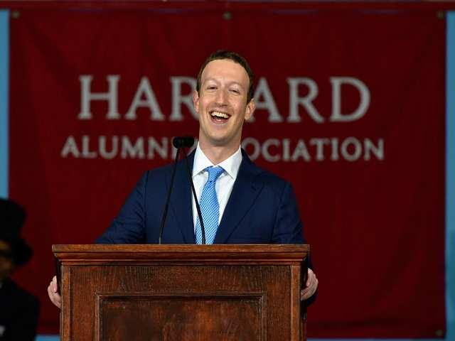 """""""Let's face it, you accomplished something I never could. If I get through this speech today, it'll be the first time I actually finish something here at Harvard."""""""