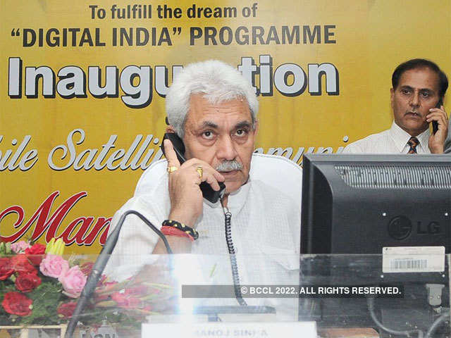 Manoj Sinha said the government would not stop any new player from entering an open market.
