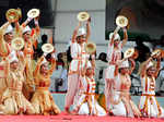 Artists performing Traditional Bhor Tal dance