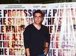 A guest arrives for the screening of Bollywood movie 'Mirror Games