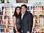 Suzi Kochar and Rahula Kochar arrive for the screening