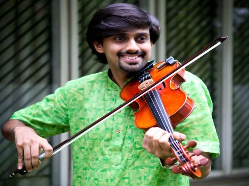 Aneesh Vidyashankar looks back on his 20-year journey as a professional violinist
