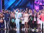 Remo D'Souza, Punit Pathak, Shakti Mohan and Dharmesh Yelande dancing with contestants