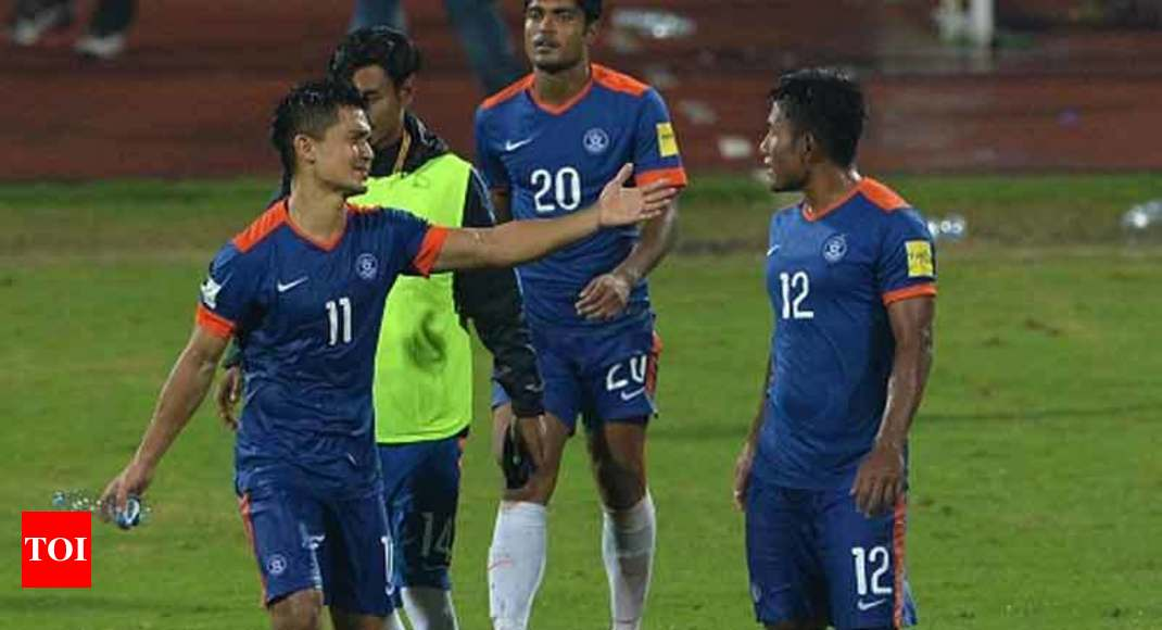 promo code 225d2 a3203 India football jersey: Fans foxed by missing Indian team ...