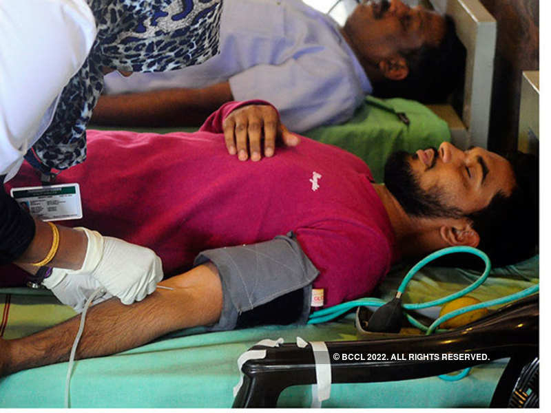 Blood donation drive (repersentational pic)