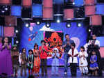 Bharti Singh, Sohail Khan and Neha Dhupia with contestants