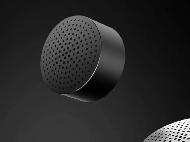 """The new """"Mi Bluetooth Speaker Mini"""" has a smooth metal housing and features Bluetooth 4.0 technology for a stable and energy-efficient connection."""