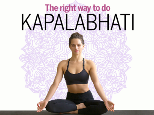 Infographic: This is how you should do Kapalabhati - Times