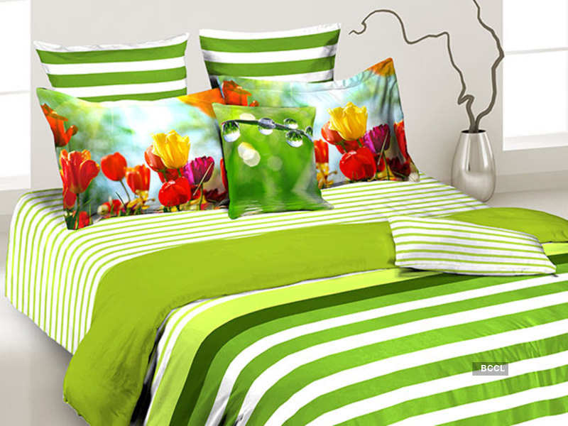 Adding colors to brighten up your home