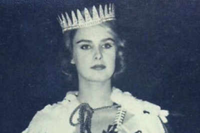 Marita Lindahl Miss World 1957 from Finland is no more