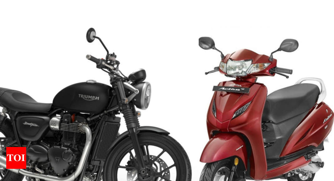 GST on two wheelers: GST effect on bikes and scooters - Times of India