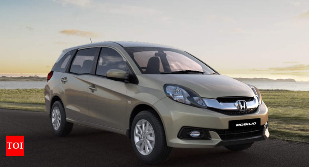 Mobilio Honda Mobilio Is No More On Sale Times Of India