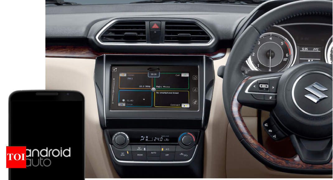 Android Auto: Maruti updating SmartPlay with Android Auto