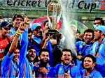 India wins the cup in 2011