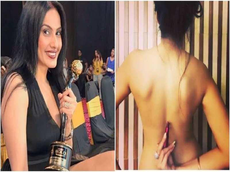 Kamya Panjabi goes bare back to support Ekta Kapoor for her film Lipstick Under My Burkha