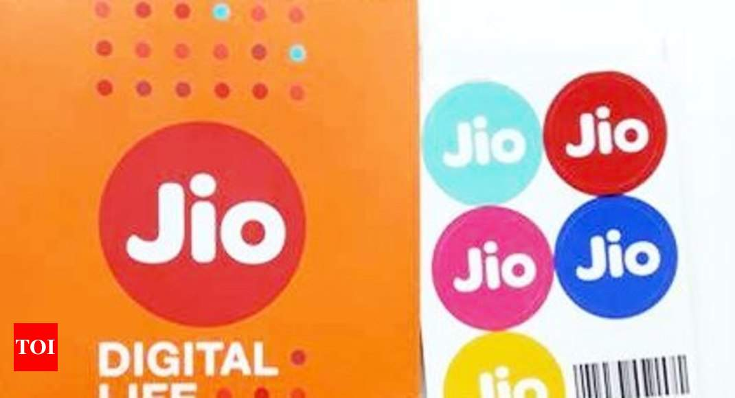 Reliance Jio latest prepaid plans - Times of India