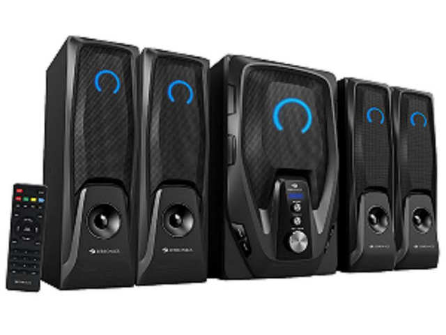 Zebronics launches Mambo 4.1 speakers, priced at Rs 5,353