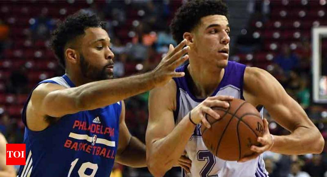 abfba80f4 NBA Summer League  Lonzo Ball scores 36 for Lakers in NBA Summer League  tournament
