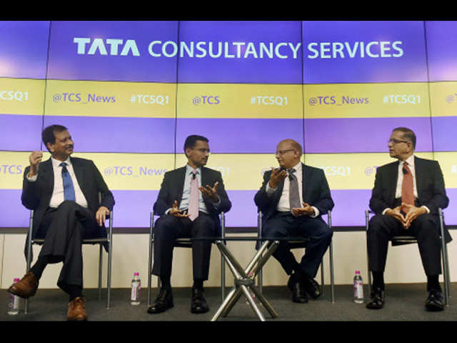 TCS Q1 margin, net dips on wage hikes, currency