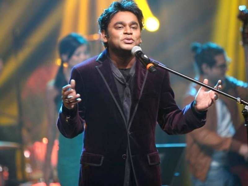 Tamil songs: Hindi fans displeased as A.R. Rahman performs more ...