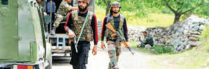 Three JeM terrorists killed in Tral encounter