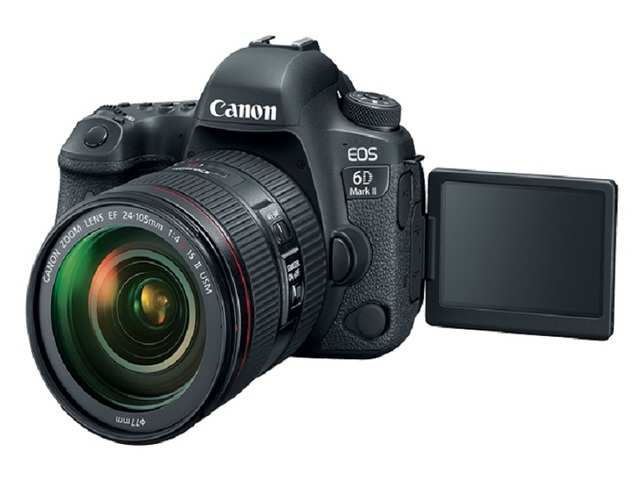 Canon EOS 6D Mark II has a new 26.2-megapixel CMOS sensor.