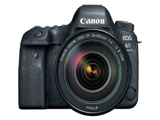 The EOS 6D Mark II camera is the second-generation version of the original Canon EOS 6D that Canon launched in the year 2012.
