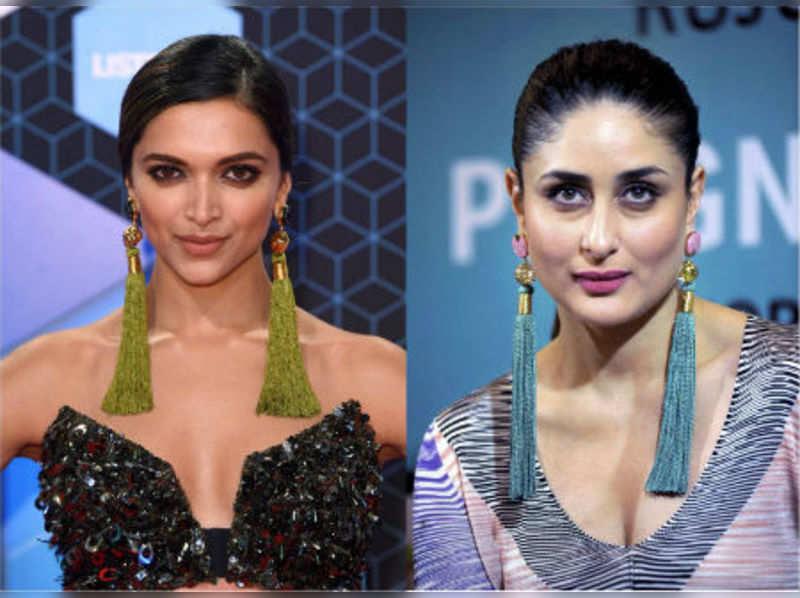 How to wear big earrings like Deepika Padukone and Kareena Kapoor