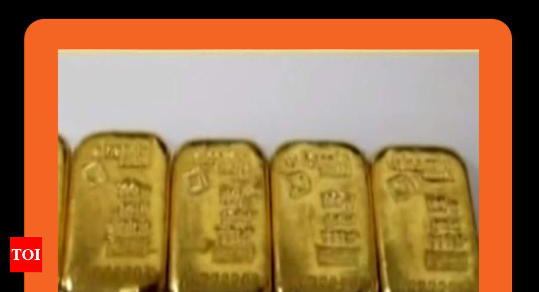 Courier Racket Dri Says 50kg Gold Smuggled Into Mumbai In 2 Years News Times Of India