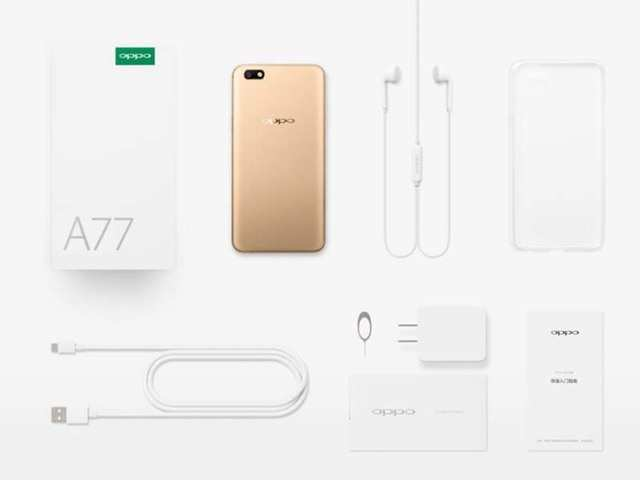 Oppo A77 Listed on official website