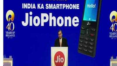 Reliance launches JioPhone, calls it 'India ka intelligent smartphone'