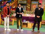 Kapil Sharma, Anil Kapoor and Arjun Kapoor