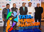 Olympic champion Haile Gebrselassie with Tata Sons chairman Natarajan Chandrasekaran