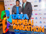 Olympic champion Haile Gebrselassie and Tata Sons chairman Natarajan Chandrasekaran