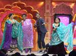Anita Hassanandani, Rajkummar Rao and Bharti Singh dancing